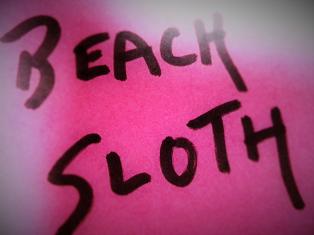 Beach Sloth